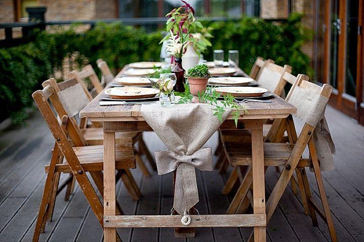 'Ballerina Bride' Eco Wedding Inspiration - eco-friendly tableware by Little Cherry at www.littlecherry.co.uk