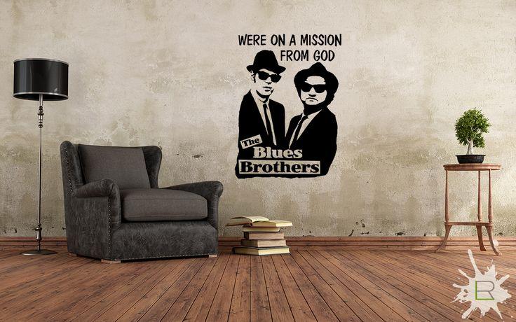 Naklejka Blues Brothers
