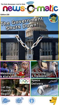 A terrific introduction to current events for kids ages 7 to 11 with unlimited potential for repeated use. FREE APP FRIDAY!! 24 apps worth $53 for FREE today only! Sponsored by News-O-Matic