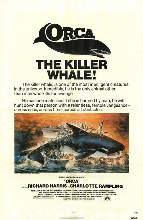 Reaktor :: Raamatuarvustus: When Animals Attack - http://ulmeajakiri.ee/?raamatuarvustus-when-animals-attack (Orca The Killer Whale / Charlotte Rampling / Richard Harris)