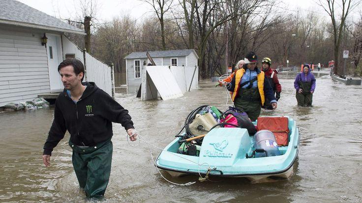 Im Hochwasser alleingelassen: Kanadier werfen Behörden Versagen vor
