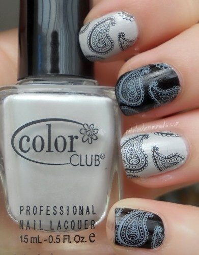 539 best monochrome nails images on pinterest beauty nails nail 3 cts color club pretty in platinum index ring 2 cts essie licorice stamped bm 315 with mash nail art black bornprettystore stamping polish white prinsesfo Images