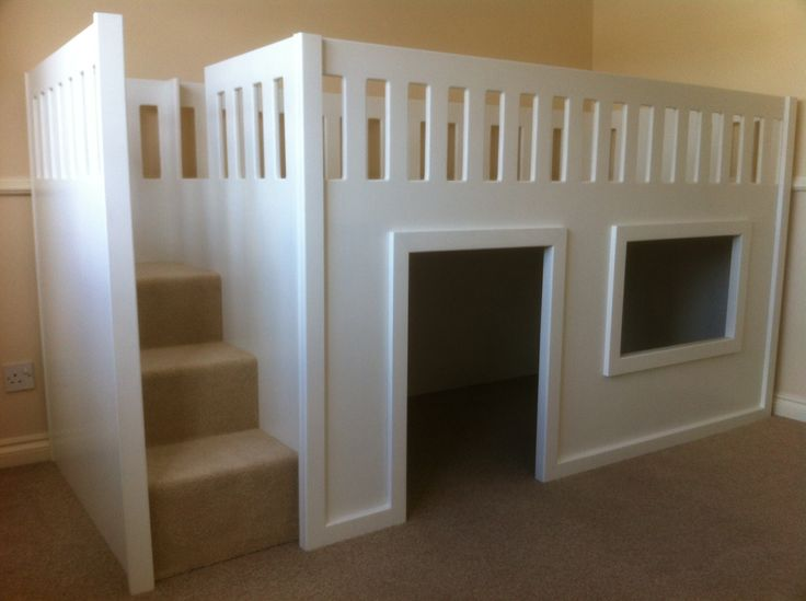 Childrens Mid Sleeper Beds - WoodWorking Projects & Plans