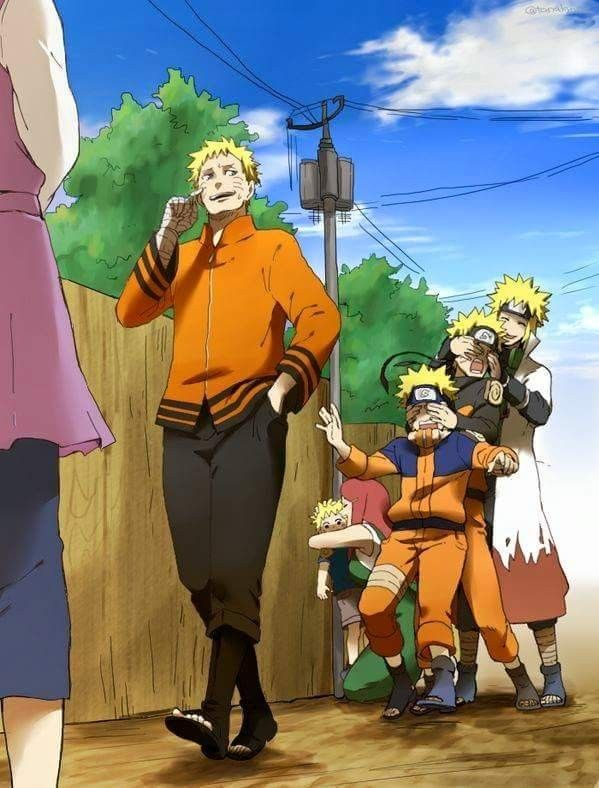 Naruto and Hinata ❤️❤️ #NaruHina ❤️❤️❤️