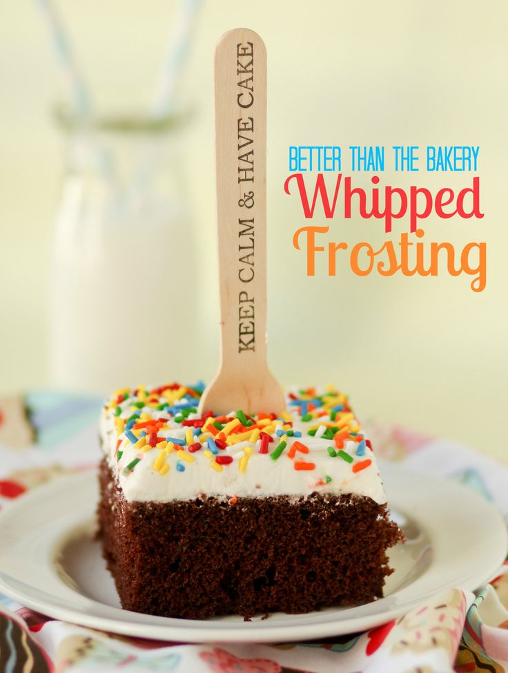 Finally, the perfect whipped frosting recipe!! This Better Than the Bakery Whipped Frosting will leave you wondering why you've bought cakes at the grocery store for all these years!!
