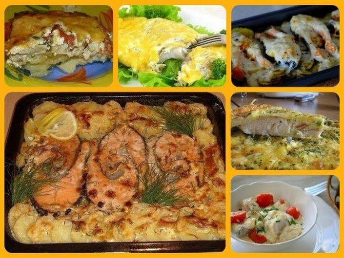 Запекаем рыбу - 6 рецептов  1. Обалденная вкусная запеканка картофельная с рыбкой Получается изумительная хрустящая сырная корочка! И рыбка, и картошка ... - Вкусный блог - Google+