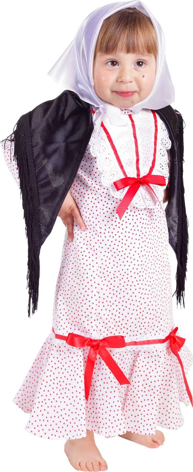 Disfraz de chulapa niña : Vegaoo, compra de Disfraces niños. Disponible en www.vegaoo.es