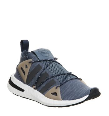 huge selection of 34afd d3572 Adidas, Arkyn Trainers, Raw Steel Grey Ash Pearl F