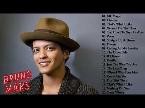 Bruno Mars Best Songs || Bruno Mars Greatest HIts 2017 - YouTube