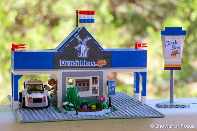 Shower of Roses: LEGO Ideas :: Dutch Bros. Coffee Drive-Thru