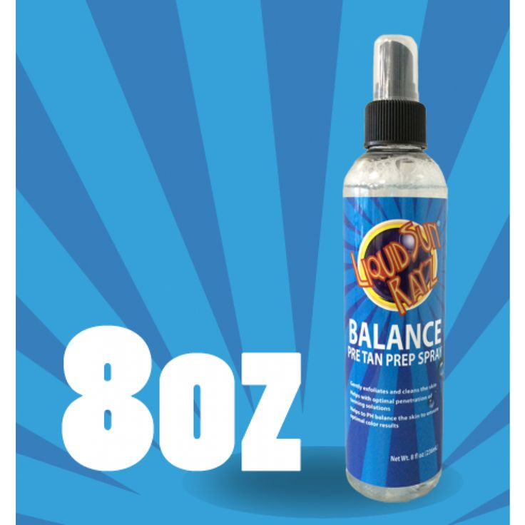 Liquid Sun Rayz Balance Pre-Tan Prep Spray  COMING SOON ON  www.liquidsunrayz.co.uk