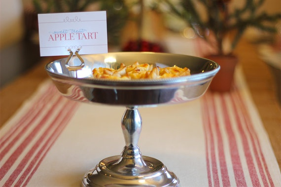 Christmas Buffet Menu Labels  Perfect for Holiday by LePartieSugar, $15.00