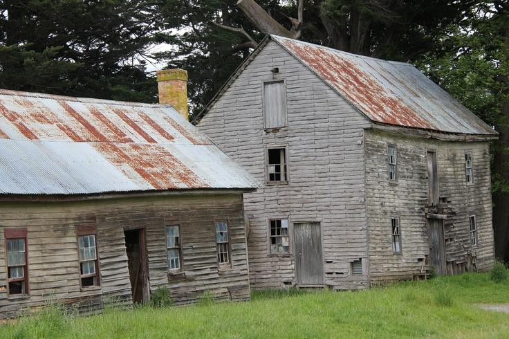 Abandoned Barns in Tasmania,Australia