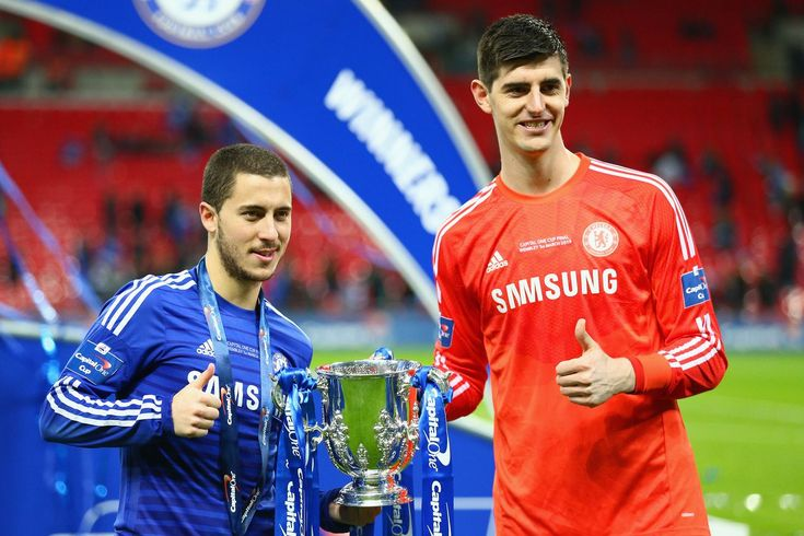 Conte implores Chelsea to not mess up Hazard, Courtois contract extensions