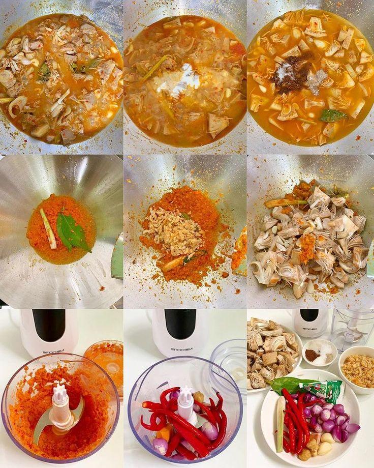 gulai nangka masak padang resepkokico gulai resep masakan  memasak Resepi Gulai Ayam Medan Enak dan Mudah