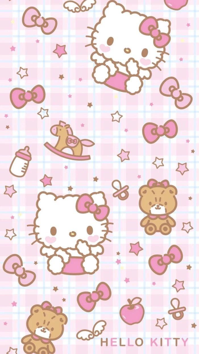 Pin By Pankeawป านแก ว On Wallpaper Hello Kitty Hello Kitty Pictures Hello Kitty Wallpaper Hello Kitty Backgrounds
