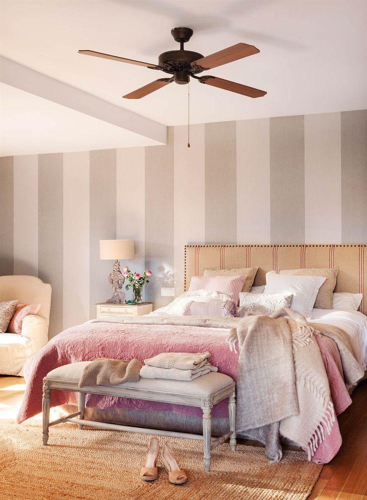 Cabezales de cama tapizados gallery of cama matrimonio - Cabezales de tela ...