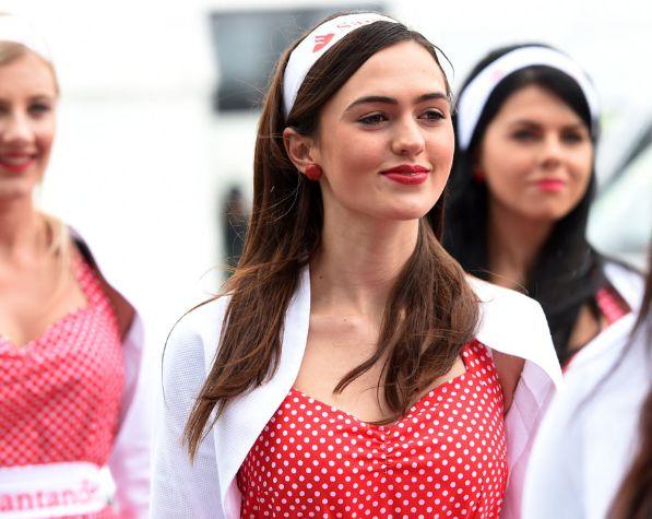 2014 British Grand Prix Grid Girls 5