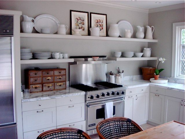 The 25  best Kitchens without upper cabinets ideas on Pinterest