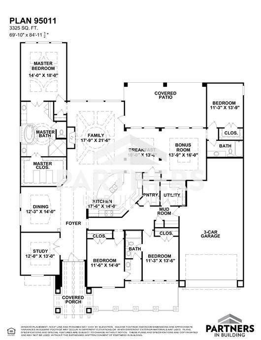 25 best partners in building images on pinterest house floor plans plan 95011 is a 3325 sqe ft 4 bedroom plan built and designed by partners in building custom home builder in texas malvernweather Gallery