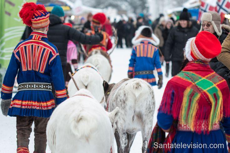 Il mercato invernale di Jokkmokk nella Lapponia svedese