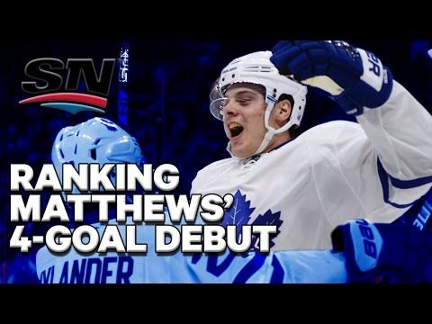 Was Matthews' debut the best ever? - YouTube