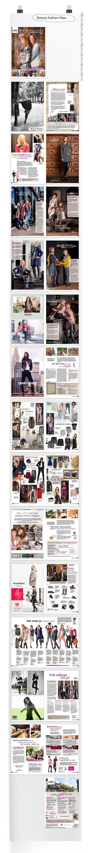 Modebijlage huis-aan-huis Rinsma Fashion Plaza on Behance