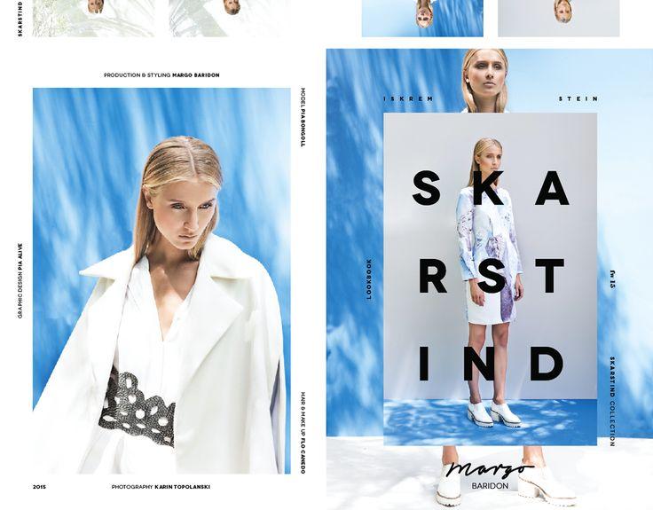 Branding & Collection / MARGO BARIDON fw2015 on Behance