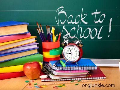 Back to School Organization ~ Links Galore!