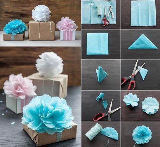 coole bastelideen-geschenk deko ideen