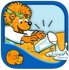 New App Birthday! The Berenstain Bears Go Out to Eat. Join us in this Oceanhouse Media interactive storybook app as the family takes Mama out to eat at the Bear Country Grill. Explore pictures, learn new vocabulary, and personalize the story with your own narration. On sale!