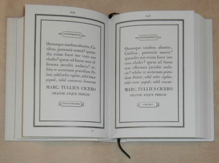 Giambattista Bodoni: Manuale tipografico (latinka)