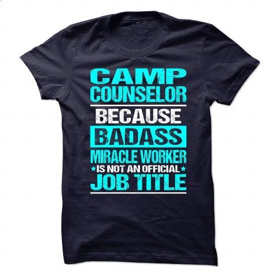 CAMP-COUNSELOR #hoodie #fashion. GET YOURS => https://www.sunfrog.com/No-Category/CAMP-COUNSELOR-85398380-Guys.html?60505