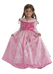 Deluxe Sleeping Beauty Princess Dress for girls. Washable, comfortable, affordable and adorable. The best dress-up clothes for kids. #princessdress #rosiesboutique #girlscostumes #rosiesteaparty