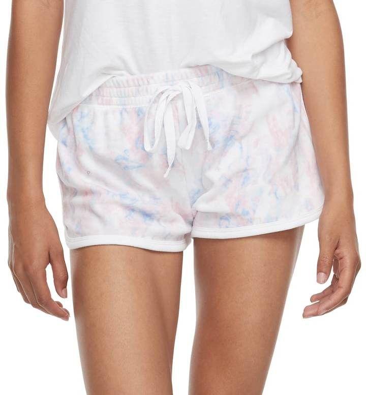 SO Juniors' SO® Pajamas: Velour Shorts