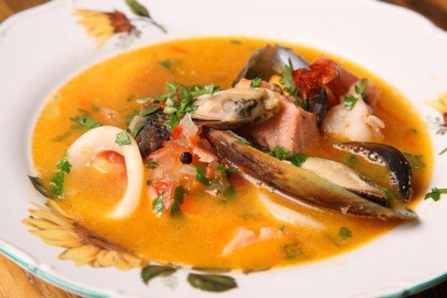 Gayane's — Рецепты от Гаяне. Суп из морепродуктов.