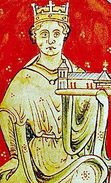 König Johann Ohneland, Bruder Richard Löwenherz aus der Historia Anglorum (1250-59) – *24. Dezember 1167 im Beaumont Palace, Oxford; † 19. Oktober 1216 auf Newark Castle, Newark-on-Trent), engl. John Lackland, eigentlich franz. Jean Plantagenêt, genannt Jean Sans-Terre, war von 1199 bis 1216 König von England, Lord von Irland, Herzog der Normandie und von Aquitanien sowie Graf von Anjou. Er war der jüngste Sohn des englischen Königs Heinrich II. und von Eleonore von Aquitanien. Nach dem Tod…