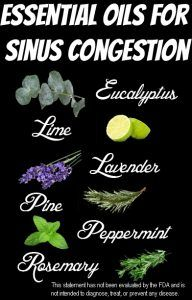 Essential Oils for Sinus Infection and Congestion Support A bad cold can take over your entire week. Headaches, stuffy nose, coughing, interrupted sleep, congestion, and more. There are plenty of over the counter decongestants, cough syrups, pain medications, and more, but simply running to Nyquil every time you have a cold and can't sleep for …