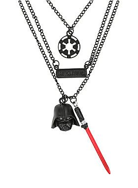 Out of this world // Star Wars Darth Vader Layered Necklace