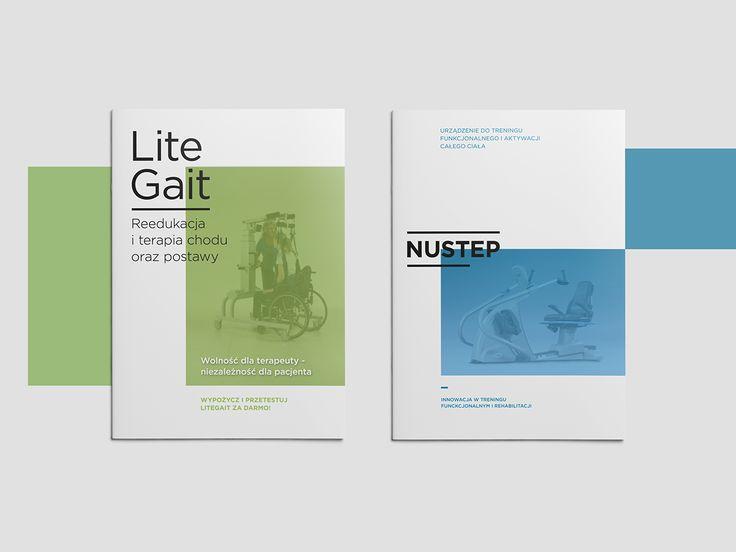 LiteGait/NuStep | Editorial Design on Behance
