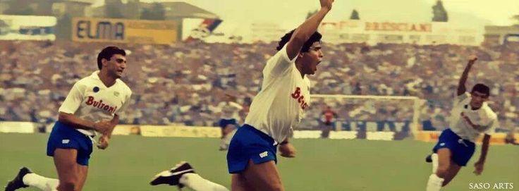 Brescia - #Napoli 0-1 #Maradona 14.09.1986
