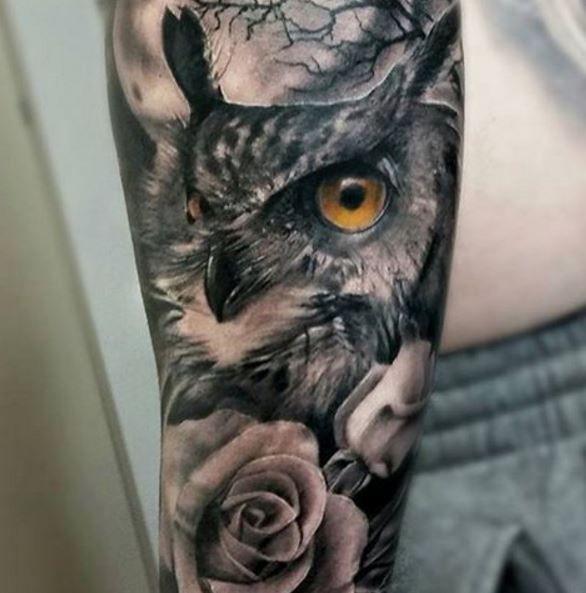 Owl Tattoos Mens Owl Tattoo Tattoos Owl Tattoo