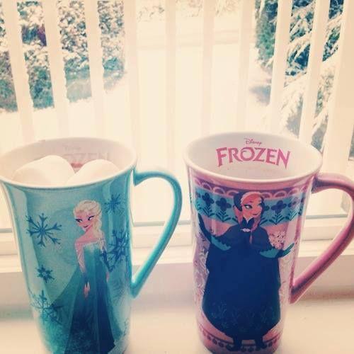cute frozen mugs. i want!