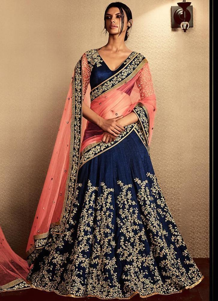 Pakistani Designer Sari Partywear Bollywood Saree Indian Ethnic Dress Wedding #TanishiFashion #LehengaSari