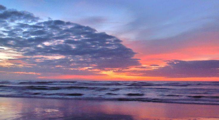 Afterglow - Foxton  Beach, New Zealand