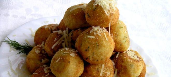 Творожно-сырные шарики