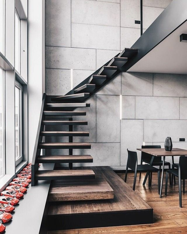 Inspirational Stairs Design: Duplex Inspiration // Loft Is All You Need The Perfect