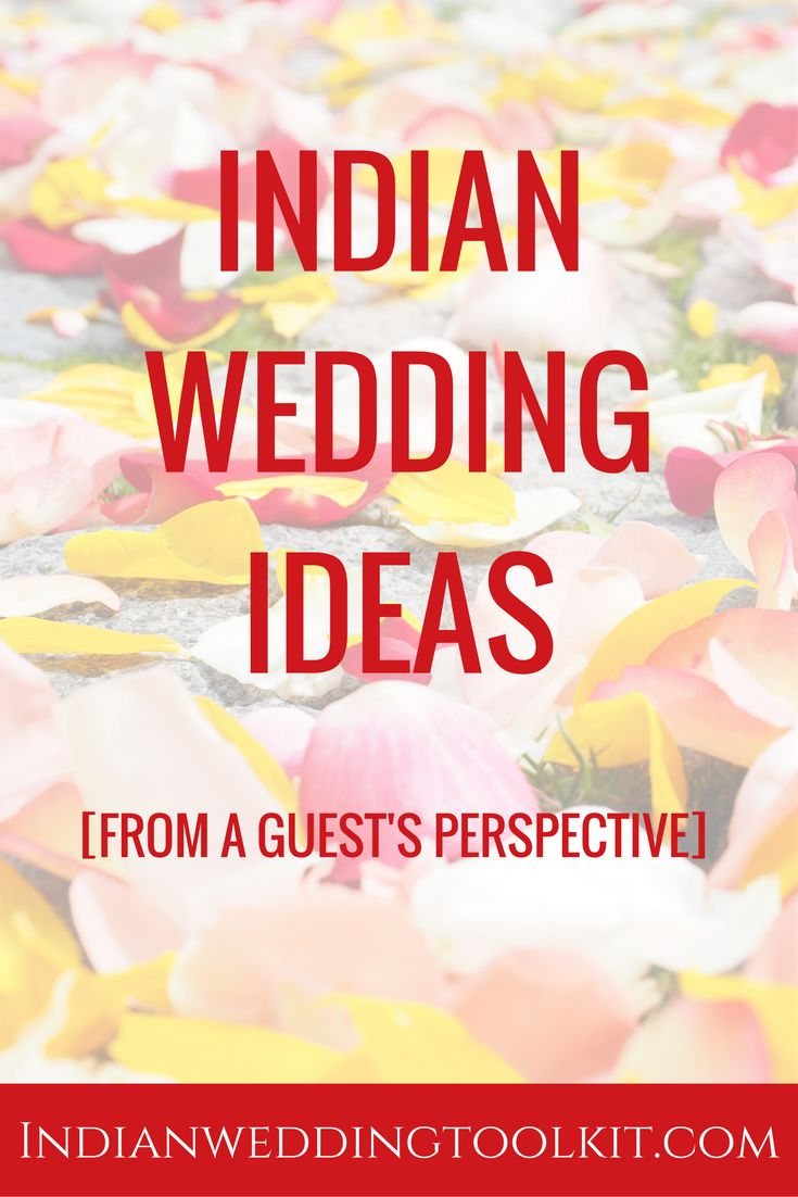 Sometimes you can get the best Indian wedding ideas from attending a wedding as a guest. Click through for 10 Indian wedding ideas from a guest's perspective!