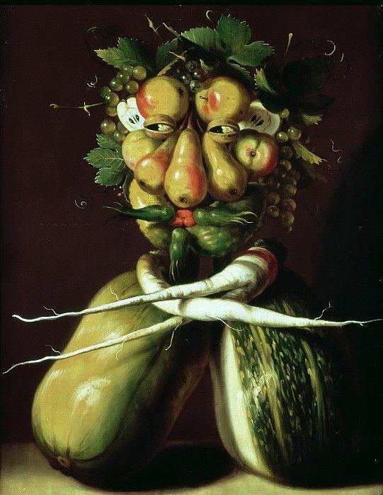 Причудливый портрет. Джузеппе Арчимбольдо