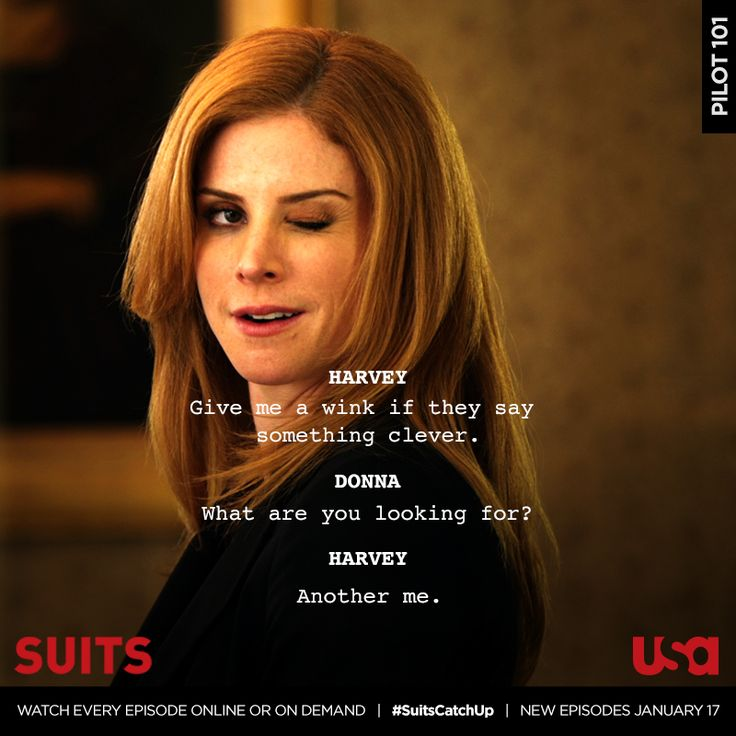 Watch every episode of Suits from the beginning online at http://suits.usanetwork.com or On Demand before new episodes return on Jan 17.